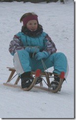 Lisa ein alter (Schnee)Hase vom Kisop
