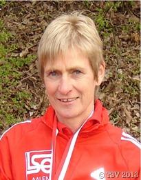 Sportlerin Jutta Bidermann