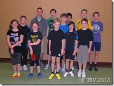 Die Teilnehmer der Schüler- und Jugendkonkurrenzen