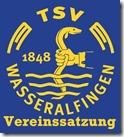 TSV 1848 e.V. Wasseralfingen -LOGO Satzung